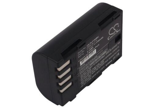 Reino Unido Batería Para Panasonic Lumix dmc-gh3agk dmw-blf19 Dmw-blf19e 7.4 v Rohs