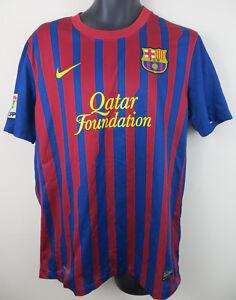 d4d68bb915e Nike Barcelona Football Shirt 2011-12 Barca Camisa Soccer Jersey ...