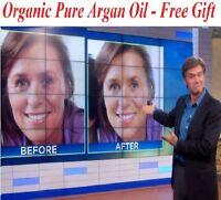2.2 Oz 30% Vitamin C E Ferulic Serum, 2 X Strength Pure Hyaluronic+ Moroccan Oil