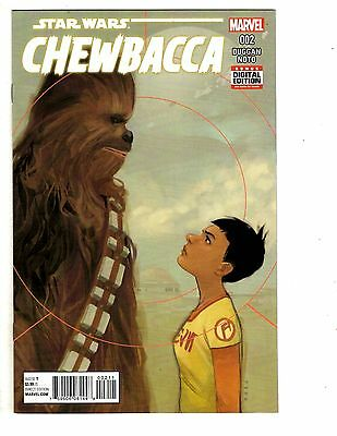 Temperate 2 Star Wars Chewbacca Marvel Comic Books # 2 5 Han Solo Duggan Noto Wm7 Nourishing The Kidneys Relieving Rheumatism Collectibles