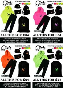 PERSONALISED-GIRLS-SHARE-THE-LOVE-Sack-Hoody-Leggings-Cap-Backpack-Pencilcase
