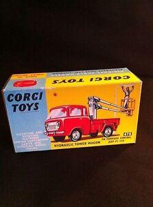 Repro Box Corgi Gift Set Nr.14 Hydraulic Tower Wagon