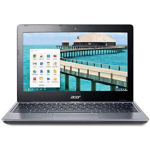 "Acer C720-2844 11.6"" LED Chromebook Intel Celeron Dual Core 1.4GHz 4GB 16GB SSD"