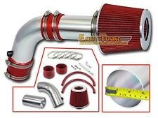 Short Ram Air Intake Kit + RED Filter for 03-06 Acura TSX / Honda Accord 2.4L