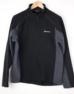Berghaus Herren Reißverschluss Vlies Pullover Sweatshirt Größe M AVZ829