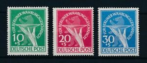 97934-West-Germany-Berlin-1949-Relief-Funds-Bear-Complete-Set-MNH