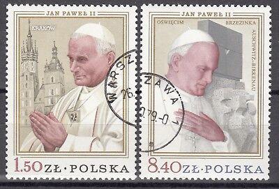 """2629-30 Satz** Gest. Polen 1979 """" Johannes Paul Ii."""" Mi 2361 0119 Reichhaltiges Angebot Und Schnelle Lieferung Logisch 15"""