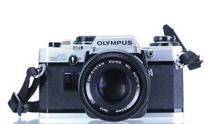 Olympus OM 10 Lens Olympus Zuiko 50mm F 1.8   (Réf#C-202)