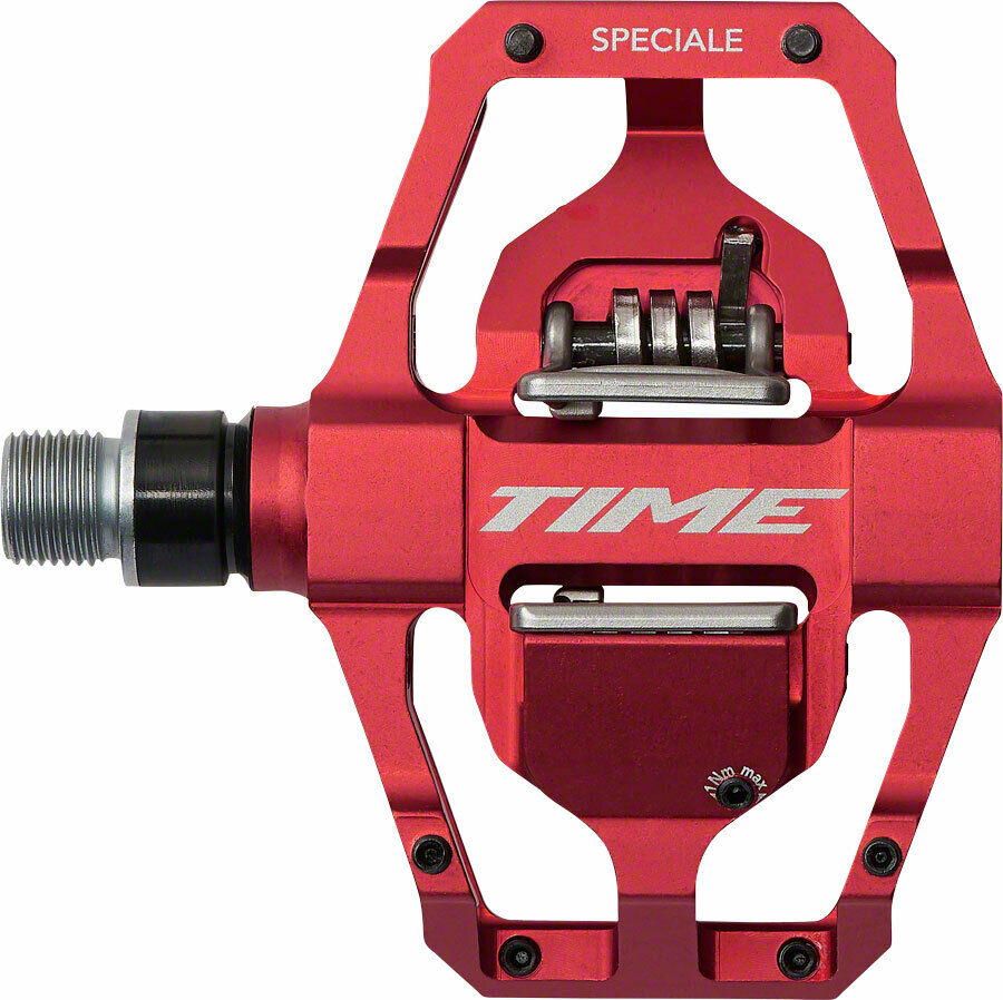 Time Speciale 12 12 12 Atac Mountain Bike MTB Enduro Pedale mit Cleats Rot | ein guter Ruf in der Welt  f54358