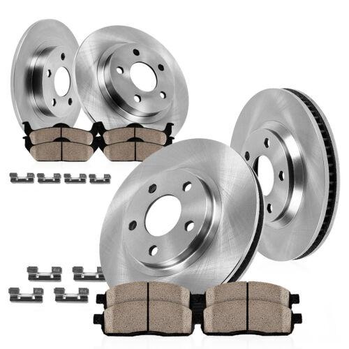For 2003 2004 2005 2006 2007 2008 Hyundai Tiburon Front Rear Rotors Ceramic Pad