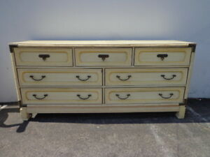 Merveilleux Details About Dresser Faux Bamboo Campaign Chest Nursery Table Bedroom  Media Console Drawers