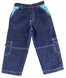 JACADI Boy/'s Caraco Indigo  Zipper Shorts SZ 8 Years NEW $52