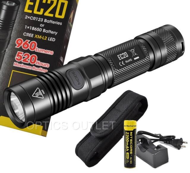 Nitecore SRT7 960 Lumens Flashlight w//Nitecore NL183 Battery