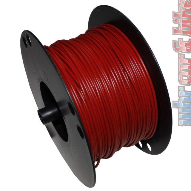 Hella KFZ-Kabel FLY Fahrzeugleitung 1,5 mm² rot Kupfer 1-adrig Meterware