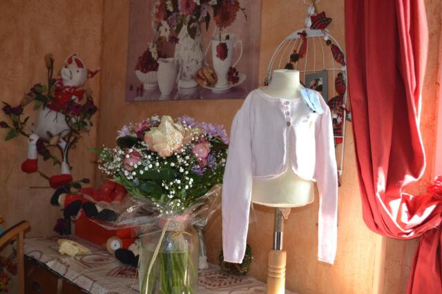 veste tartine et chocolat neuve 6 ans rose petit noeud brelogue