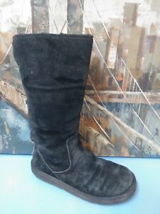 Image is loading Genuine-Ugg-Boots-Roseberry-in-Black-5734-Size-