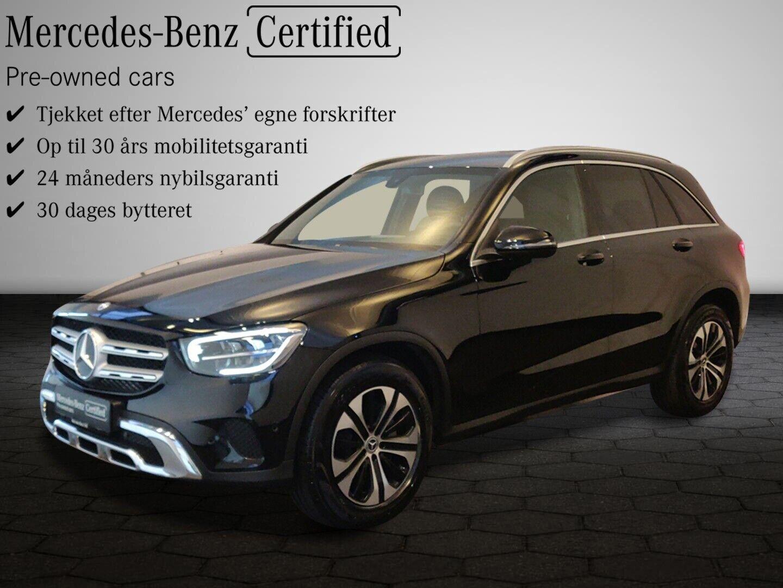 Mercedes GLC220 d 2,0 aut. 4-M 5d - 619.800 kr.