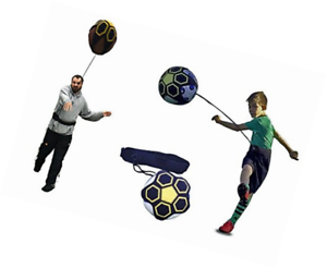 Kickthrow Soccer/football Kick/jet Trainer Solo Practice Training Aid Control-l Kick/throw Trainer Solo Practice Training Aid Control Afficher Le Titre D'origine