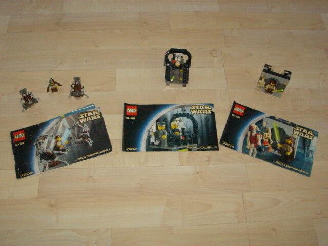 Lego Star Wars Konvolut - 7201 7203 & 7204 inkl. Figuren - Top