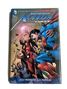 Superman Action Comics Volume 2 Bulletproof - DC New 52 Hardcover Graphic Novel