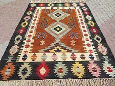 """Vintage Anatolia Turkish Antalya Kilim 72,4""""x103,1"""" Tribal Area Rug,Kelim,Carpet"""
