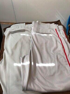 4XL Champro Sports MVP Adult Men/'s Hemmed Baseball Softball Pants BP4UA Sizes S