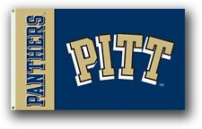 Pittsburgh Panthers Pitt PV95061 3x5 Flag w/Grommets Banner University of