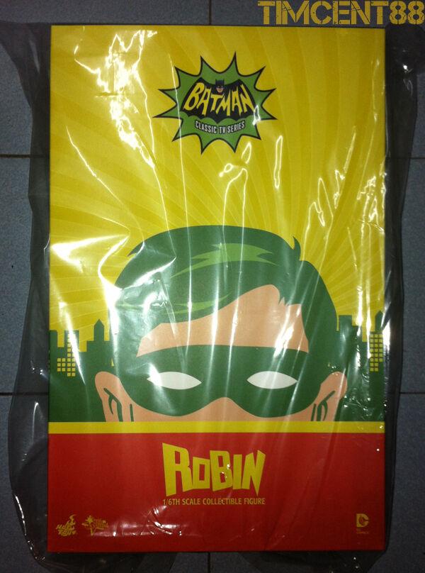 Ready  Hot Toys DC MMS219 - Batman 1966 1966 1966 Classic TV - 1 6 Robin Burt Ward Figure 0cb564