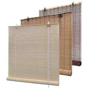Vidaxl Store Roulant En Bambou Rideau Fenêtre Chambre Multi Taille