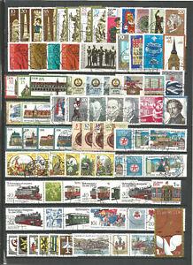 DDR-1984-gestempelt-kompletter-Jahrgang-mit-allen-Einzelmarken-Super-Stempel
