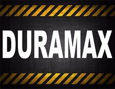 Duramax 22'' decal vinyl car sticker diesel window banner powestroke duramax