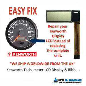 Details about Kenworth Tachometer Hour Meter LCD Display & ribbon   NEW