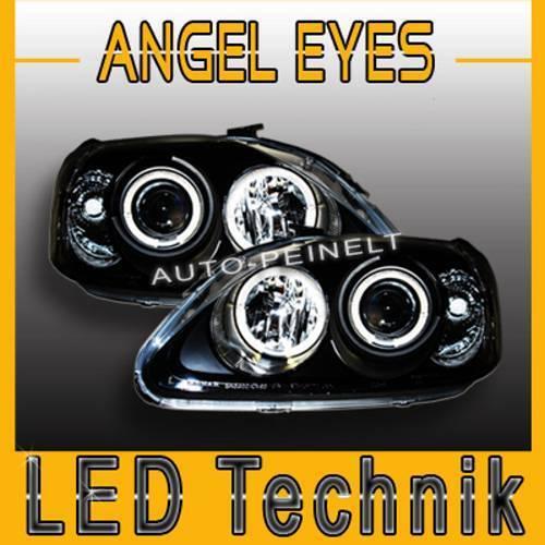 Angel Eyes Scheinwerfer DE Linse Honda Civic 99-00 EJ9