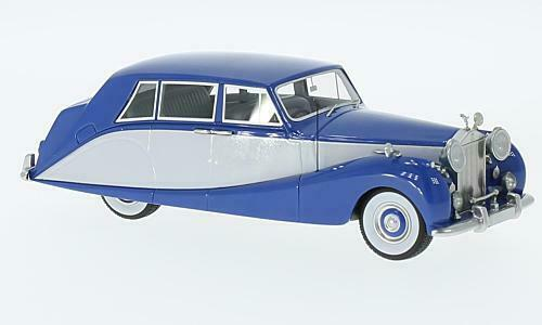 ventas en linea Rolls Royce plata Wraith Wraith Wraith Empress Limousine By Hopper azul   gris 1956 1 43  tienda de venta