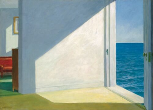 SEASCAPE ART PRINT Rooms by the Sea by Edward Hopper Poster 11x14