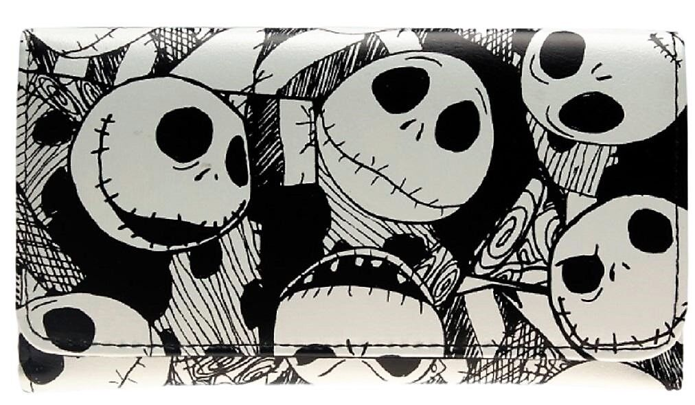 Nightmare Before Christmas Trifold Womens Hand Purse Clutch Wallet