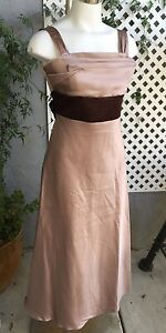 WATTERS-amp-WATTERS-45232-Taupe-Brown-Bridesmaid-Special-Occasion-Dress-Size-14XL