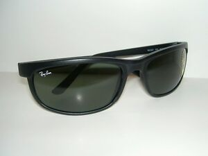 a59a63d3c0 New RAY BAN Sunglasses PREDATOR 2 Matte Black RB 2027 W1847 G-15 ...