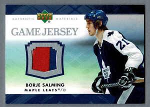 e1a7b25ac7c 2007-08 Upper Deck Game-Used Jersey C-SA, Toronto Maple Leafs' Borje ...