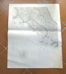 Costa Tirrenica Toscana Cartina.Mappa Nautica Mar Tirreno Arcipelago Toscana Lazio Campania Roma Napoli Livorno Ebay