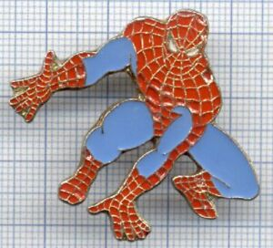 Pin-039-s-SPIDERMAN-super-heros-1988-MARVEL-BD-bandes-dessinees-COMICS-L-039-araignee