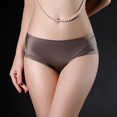 3 Pack Women Soft Underpants Seamless Lingerie Briefs Panties Hipster Underwear
