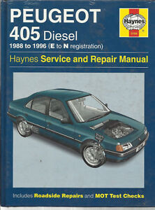3198 peugeot 405 1988 to 1997 diesel haynes service and repair rh ebay co uk peugeot 405 workshop manual free download peugeot 405 manual haynes download