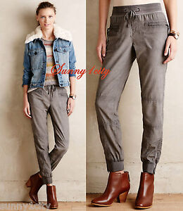 85aa25aa51b NEW Sz 26 Anthropologie Ankle-Zip Cord Joggers By Marrakech comfy ...