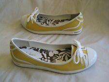 Cole haan Nike air cap toe flats yellow US 6B EUR 36-37 UK 4
