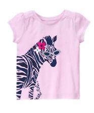Nwt GYMBOREE GIRLS Purple Zebra Mix N Match Shirt Size 2t