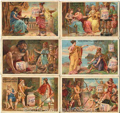 Chromo Liebig Sang. 166 Ita Ulisse Anno 1883/85 Per Farti Sentire A Tuo Agio Ed Energico