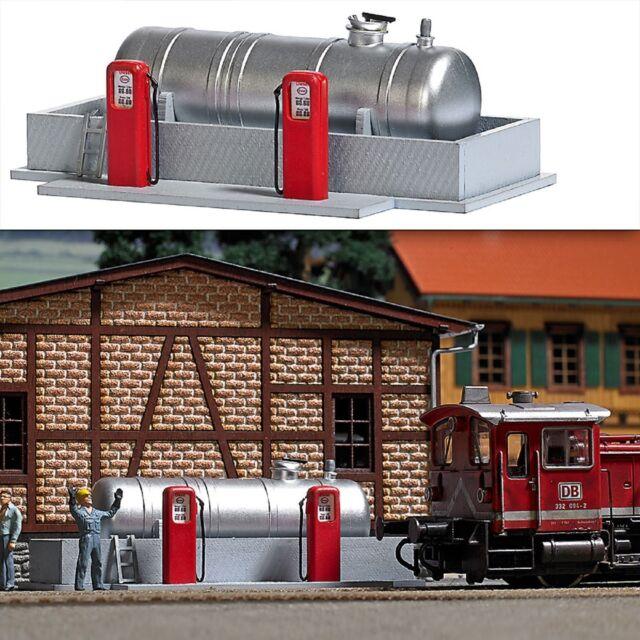 BUSCH 1158 H0, Tankstelle für Bahnbetriebswerk, Bausatz, Neu