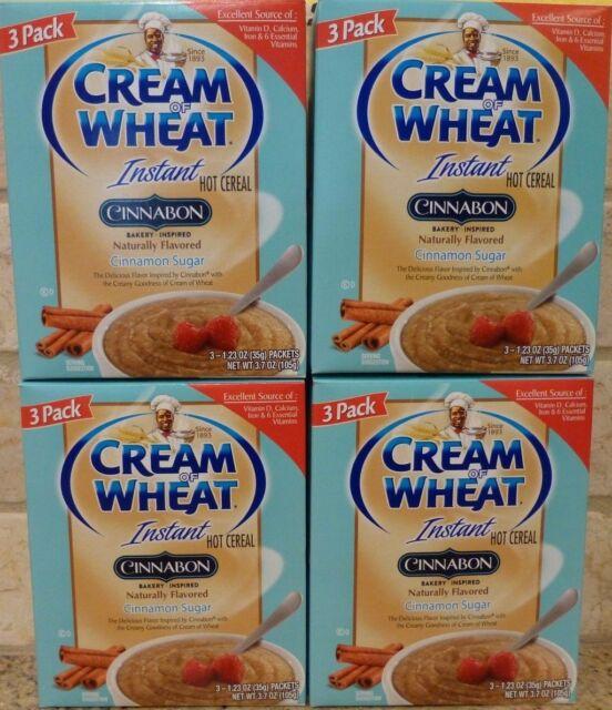 Cream Of Wheat Cinnabon Flavor Instant Hot Cereal