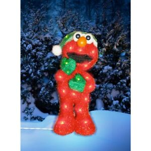 "32"" Christmas Yard Decor ELMO 70/Light 3D Figure Sesame ..."